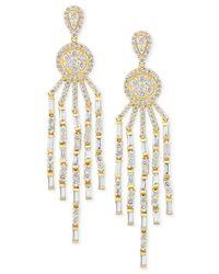 Effy Collection - Metallic D'oro By Effy Diamond Chandelier Earrings (3 Ct. T.w.) In 14k Gold - Lyst
