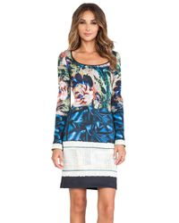 Clover Canyon - Multicolor James Joyce Neoprene Dress - Lyst
