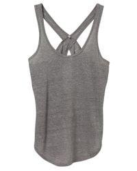 Alternative Apparel | Gray Make Your Move Eco-gauze Tank Top | Lyst
