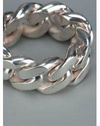 Vibe Harsløf | Metallic Chain Ring | Lyst