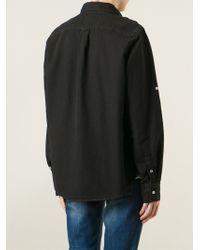 Bliss and Mischief - Black 'Surplus' Workwear Shirt - Lyst
