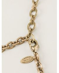 Lanvin - Metallic You Necklace - Lyst
