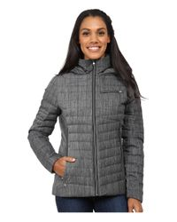 Spyder - Black Timeless Hoodie Novelty Down Jacket - Lyst
