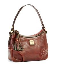 Dooney & Bourke | Brown Pouchette Demi Handbag | Lyst
