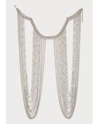 Bebe | Metallic Chainmail Body Jewelry | Lyst