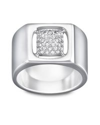 Swarovski - Metallic Tactic Crystallized Ring - Lyst