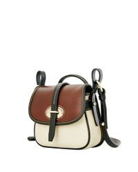 Dooney & Bourke - Brown Verona Christina Leather Crossbody Bag - Lyst