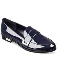 Marc Fisher | Blue Pagan Loafers | Lyst