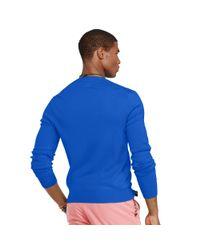 Polo Ralph Lauren | Blue Slim-fit Pima Cotton Sweater for Men | Lyst