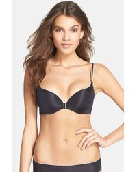 Chantelle | Black 'irresistible' Underwire Push-up Bra | Lyst