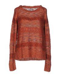 Vero Moda - Brown Sweater - Lyst