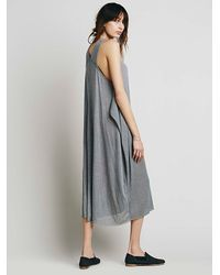 Free People - Blue Dream Gardens Dress - Lyst