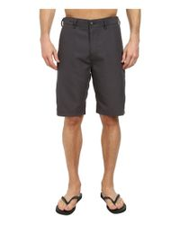Billabong - Black Carter Hybrid Short for Men - Lyst