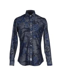 Hydrogen | Blue Shirt for Men | Lyst