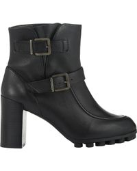 Robert Clergerie | Black Double-buckle Apin Boots | Lyst
