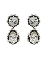 DANNIJO - Metallic Alix Earrings - Lyst