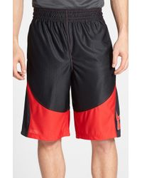 Under Armour | Red 'mo Money' Knit Basketball Shorts for Men | Lyst