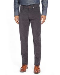 Incotex | Gray 'raye' Five-pocket Pants for Men | Lyst