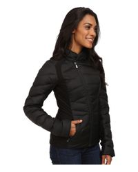 The North Face Black Lucia Hybrid Down Jacket