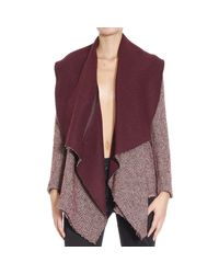 Manila Grace - Purple Coat - Lyst