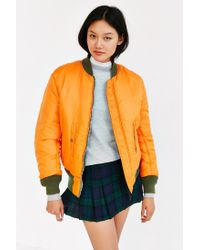 Alpha Industries - Green Ma-1 Bomber Jacket - Lyst