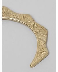 Odette New York - Metallic Freya Cuff Recycled Brass - Lyst