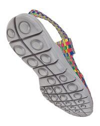 Bernie Mev - Multicolor Romeo Sandal Grey Multi Fabric - Lyst