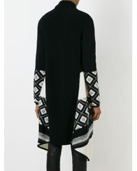 VINCE | Black Asymmetric Cardi-coat | Lyst