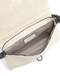 Rag & Bone - White Enfield Mini Leather Shoulder Bag - Lyst
