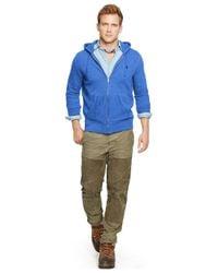 Polo Ralph Lauren - Blue Full-zip Fleece Hoodie for Men - Lyst