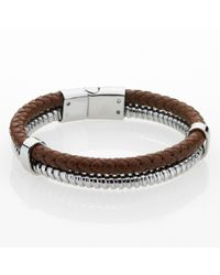 Storm - Brown Plyro Bracelet for Men - Lyst