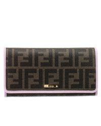 Fendi | Pink Wallet | Lyst