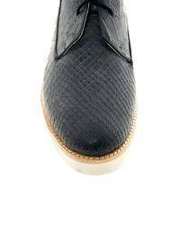 Messeca - Black Monroe Flat Boots - Lyst