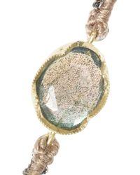 Brooke Gregson - Blue 18karat Gold Sterling Silver and Labradorite Bracelet - Lyst