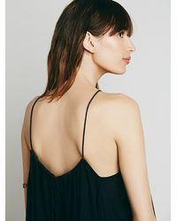 Free People | Black Endless Summer Womens Sexy Back Blues Tunic | Lyst
