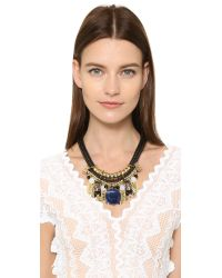 Holst + Lee - Multicolor Singapore Stone Necklace - Lyst