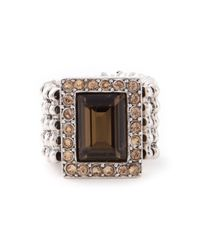 Philippe Audibert | Metallic 'elea' Ring | Lyst