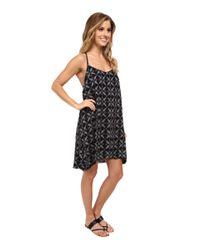 Hurley - Black Madison Cami Dress - Lyst