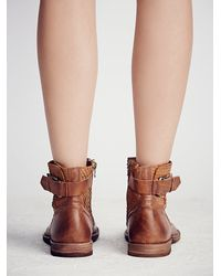Free People - Brown Fp Collection Womens Immortalia Ankle Boot - Lyst