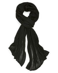 Echo - Black Solid Wrap - Lyst