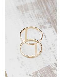 Forever 21 | Metallic Shashi Zoe Midi Ring | Lyst