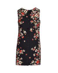Dolce & Gabbana - Black Short Dress - Lyst