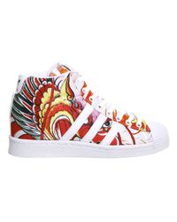 Adidas Originals - White Superstar Up W - Lyst