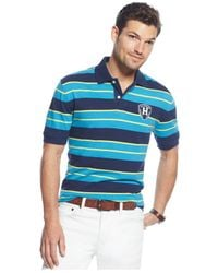 Tommy Hilfiger | Blue Aiden Classic-fit Polo for Men | Lyst