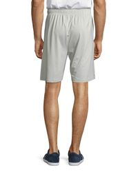 Psycho Bunny - Gray Sport Performance Shorts for Men - Lyst