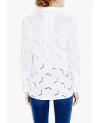 M.i.h Jeans - White Arrow Shirt - Lyst