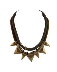 Ziba | Black Erna Necklace | Lyst