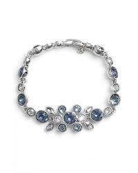 Givenchy - Blue Crystal Bracelet - Lyst
