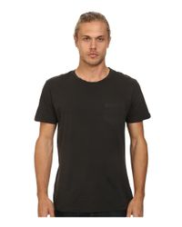 RVCA | Black Ptc 2 Pigment Knit Tee for Men | Lyst
