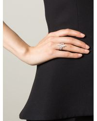 V Jewellery | Metallic 'Simplicity' Multiform Ring | Lyst